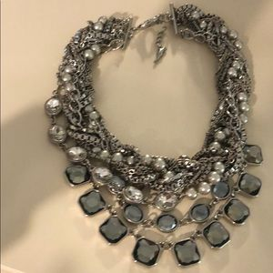Chloe and Isabel silver torsade necklace
